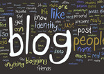 blogging people cropped