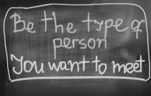 Be The Type of Person - canstockphoto18515232