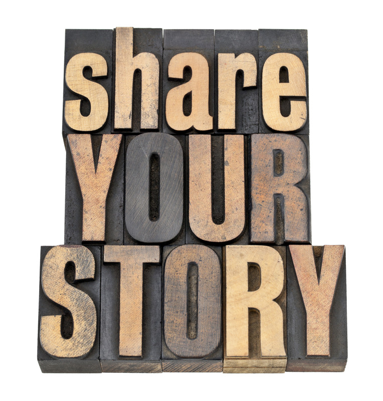 share your story - canstockphoto9867585