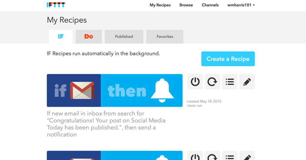 IFTTT-Automate-Social-Media-Tasks