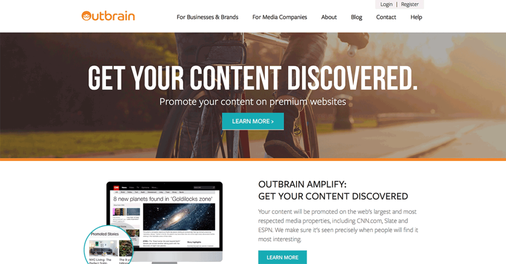 Outbrain-Content-Promotion-Tool